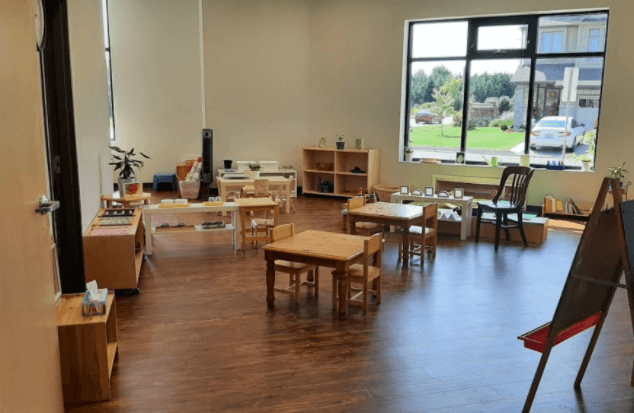 toddler program classroom